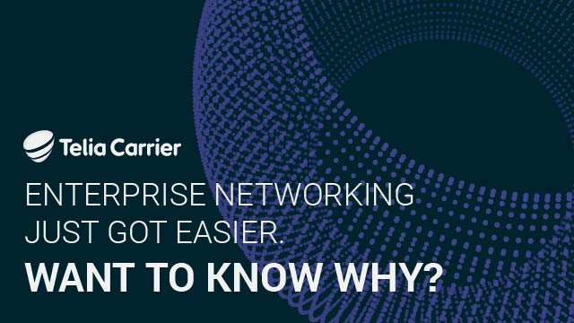 Enterprise networking just got easier. Want to know why?