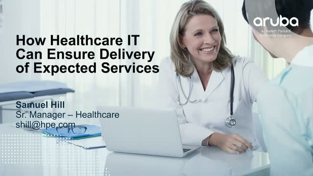How Healthcare IT Can Ensure Delivery of Expected Services
