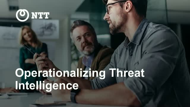 How to effectively operationalize threat intelligence