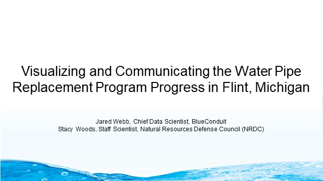 Visualizing & Communicating the Water Pipe Replacement Program Progress in Flint