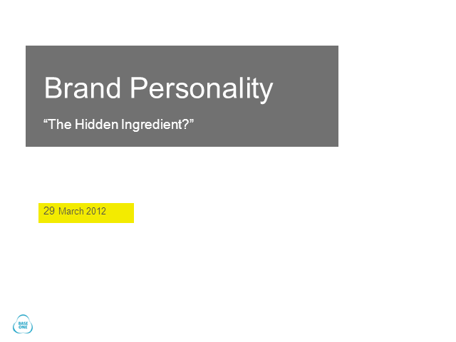B2B brand personality: How do you know if yours is right?