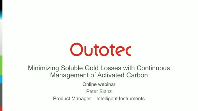 Minimizing Soluble Gold Losses with Continuous Management of Activated Carbon