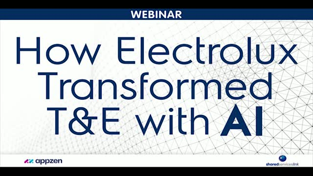 How Electrolux Transformed T&E With AI