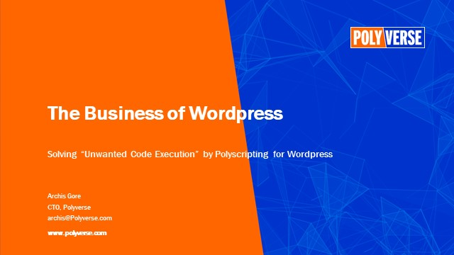 How to protect your WordPress from code injection