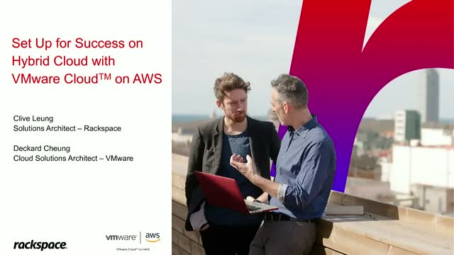 Set Up for Success on Hybrid Cloud with VMware Cloud on AWS - Cantonese