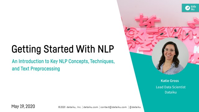 How to Get Started With NLP