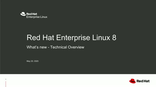 New features and improvements of RHEL 8