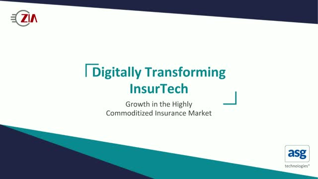 Digitally Transform InsurTech: Growth in a Highly Commoditized Insurance Market