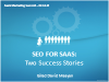 SEO for SaaS Products: Two Success Stories