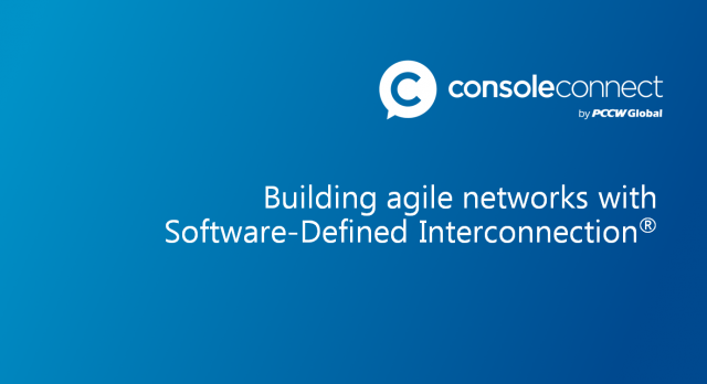 Building agile networks with Software-Defined Interconnection®