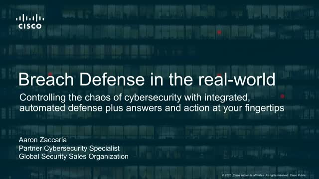Breach Defense In The Real World
