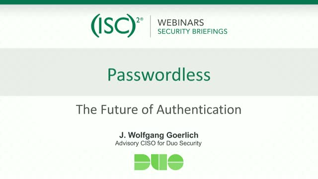 Paving a Path to a Passwordless Future