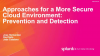 Approaches for a More Secure Cloud Environment: Prevention and Detection