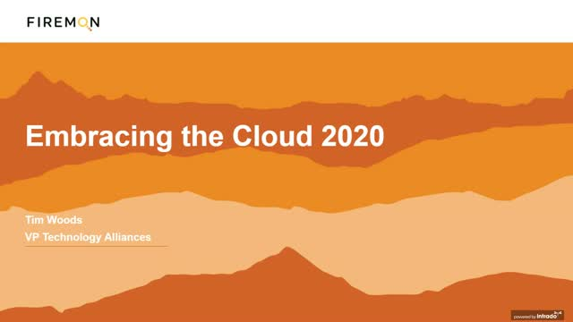 Embracing the Cloud 2020