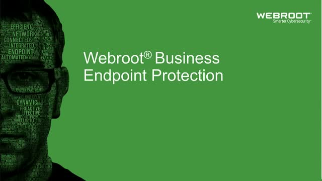 Webroot® Business Endpoint Protection Demo