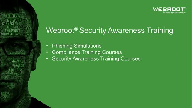 Webroot Security Awareness Training Demo