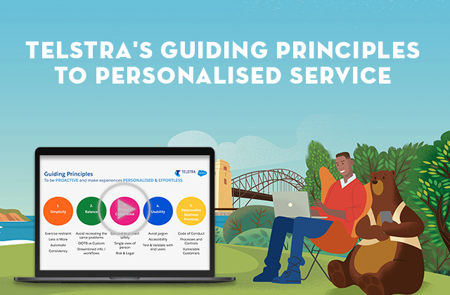 Telstra's guiding principles to personalised service, with special guest speaker