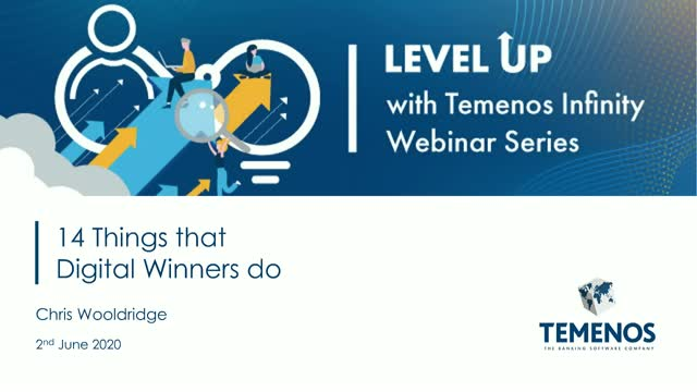 LevelUP with Temenos Infinity: 14 Things that Digital Winners Do