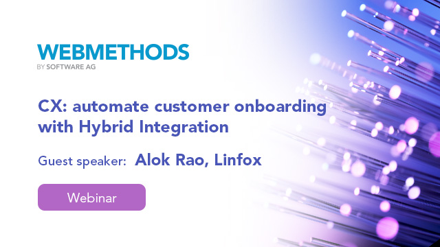 Linfox CX: automate customer onboarding with Hybrid Integration
