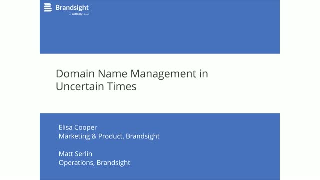 Best Practices for Corporate Domain Name Management in Uncertain Times