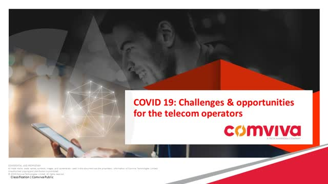 COVID 19: The Challenges and Opportunities for Telecom Operators