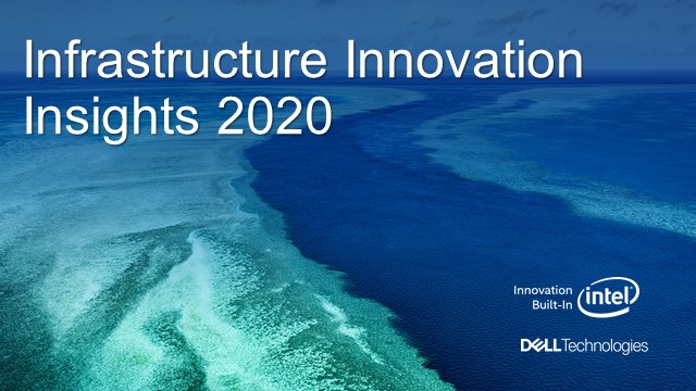 Evènement Infrastructure & Innovation 2020