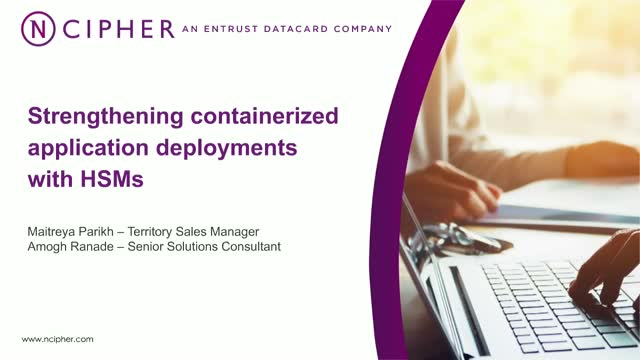 Strengthening containerized application deployments with HSMs