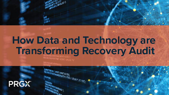 How Data and Technology are Transforming Recovery Audit