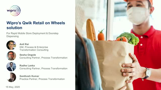 Wipro's Qwik Retail on wheels