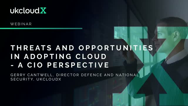 Threats and Opportunities in Adopting Cloud – A CIO Perspective