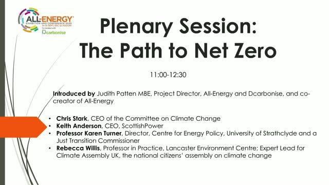The Path to Net Zero