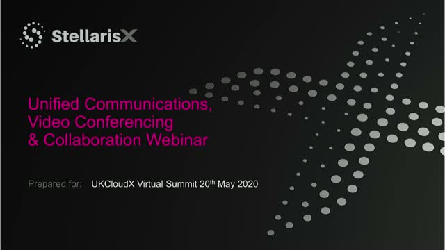 Cinos: Stellaris-X Unified Communications, Video Conferencing & Collaboration