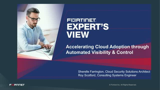 Accelerating Cloud Adoption through Automated Visibility and Control