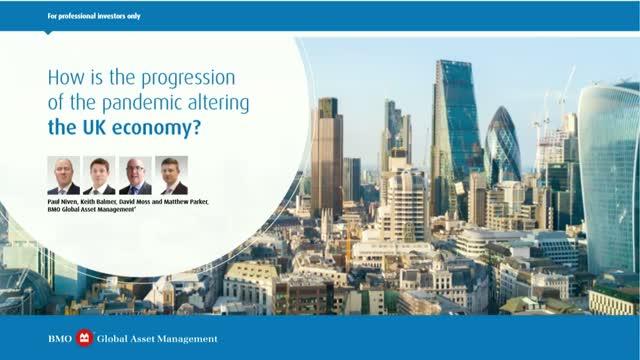 How is the progression of the pandemic altering the UK economy?
