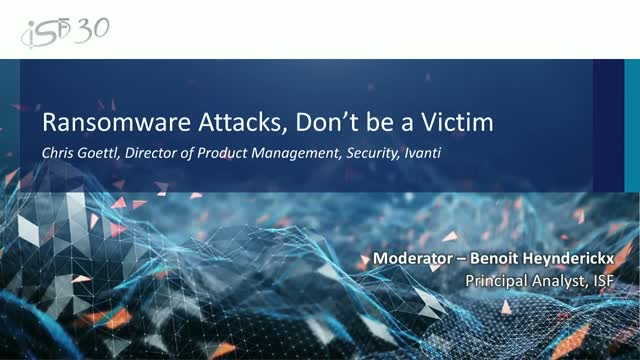 Ransomware Attacks, Don't be a Victim