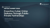 Proactive Cyber Crime Defense Through Public-Private Partnerships