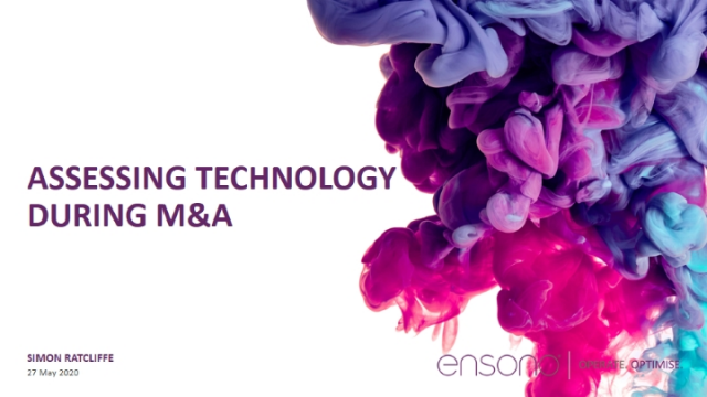 Assessing Technology During M&A