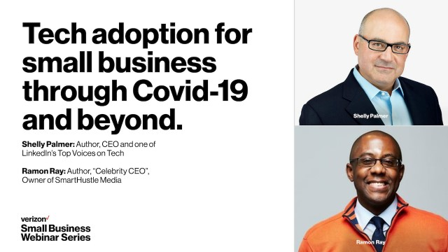 Tech Adoption for Small Business through Covid-19 and Beyond.