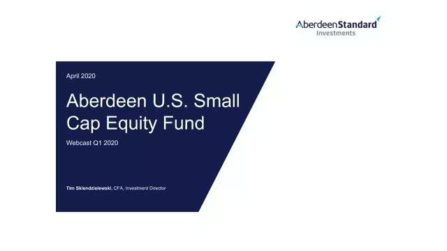 Q1 2020 U.S. Small Cap Update webcast