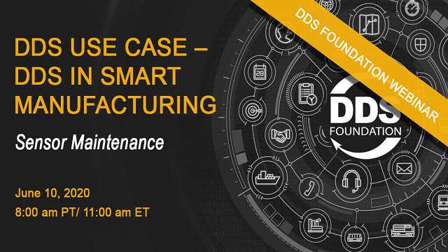 DDS Use Case - DDS in Smart Manufacturing