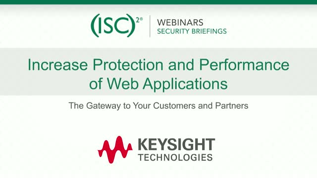 Keysight #2: Increase Protection and Performance of Web Applications