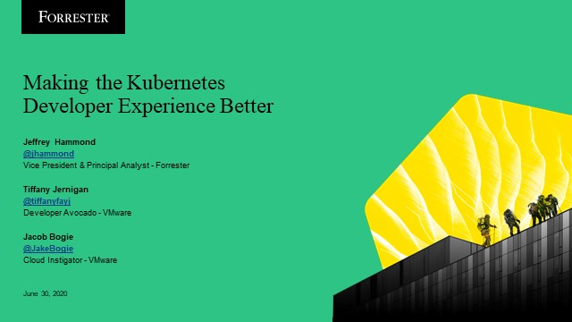 Making the Kubernetes Developer Experience Better
