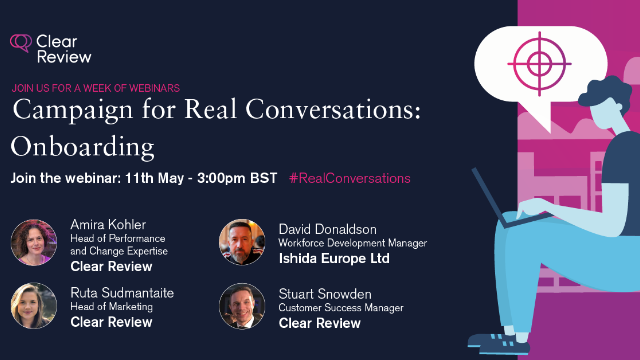 Campaign for Real Conversations: Onboarding