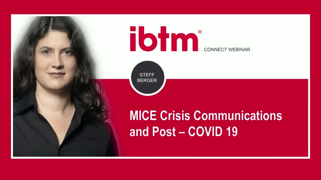 MICE-Crisis Communications and post-COVID-19