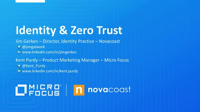 Zero Trust – Don't Forget the People!