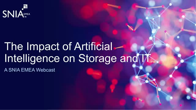 Your Storage Infrastructure on AI