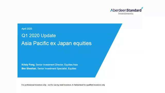 Asia Pacific ex Japan Equities Q1 2020 Update