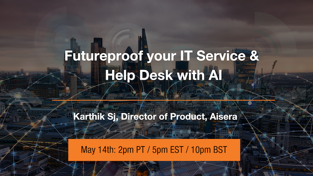Futureproof Your IT Service & Help Desk with AI