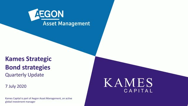 AAM/Kames Strategic Bond strategy update