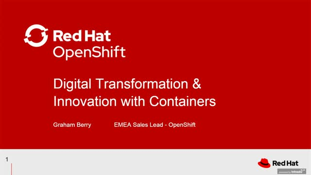 The importance of containers for digital innovation
